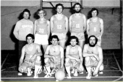 L'historique du basket  à Quincié-en-Beaujolais 1975