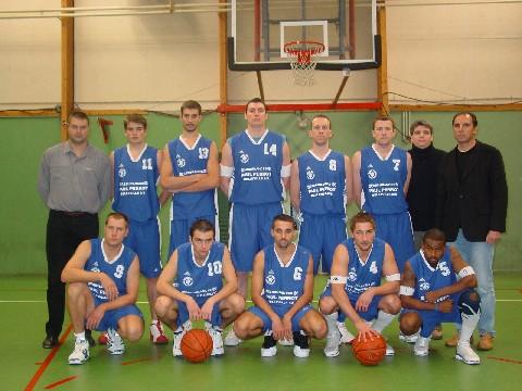 L'historique du basket  à Quincié-en-Beaujolais SM1-0405bis2